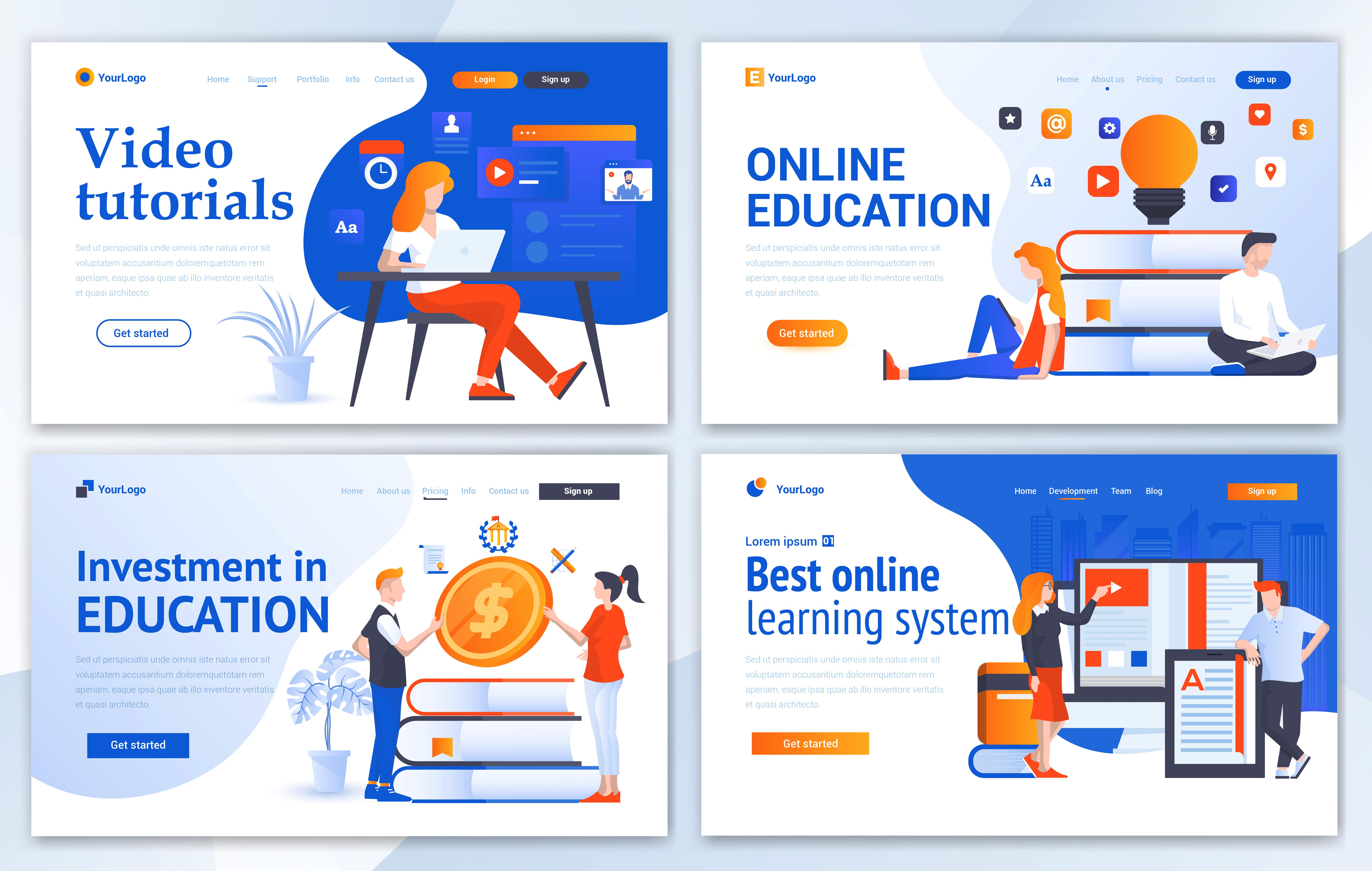 مجموعه الگوهای طراحی وب (آموزش)