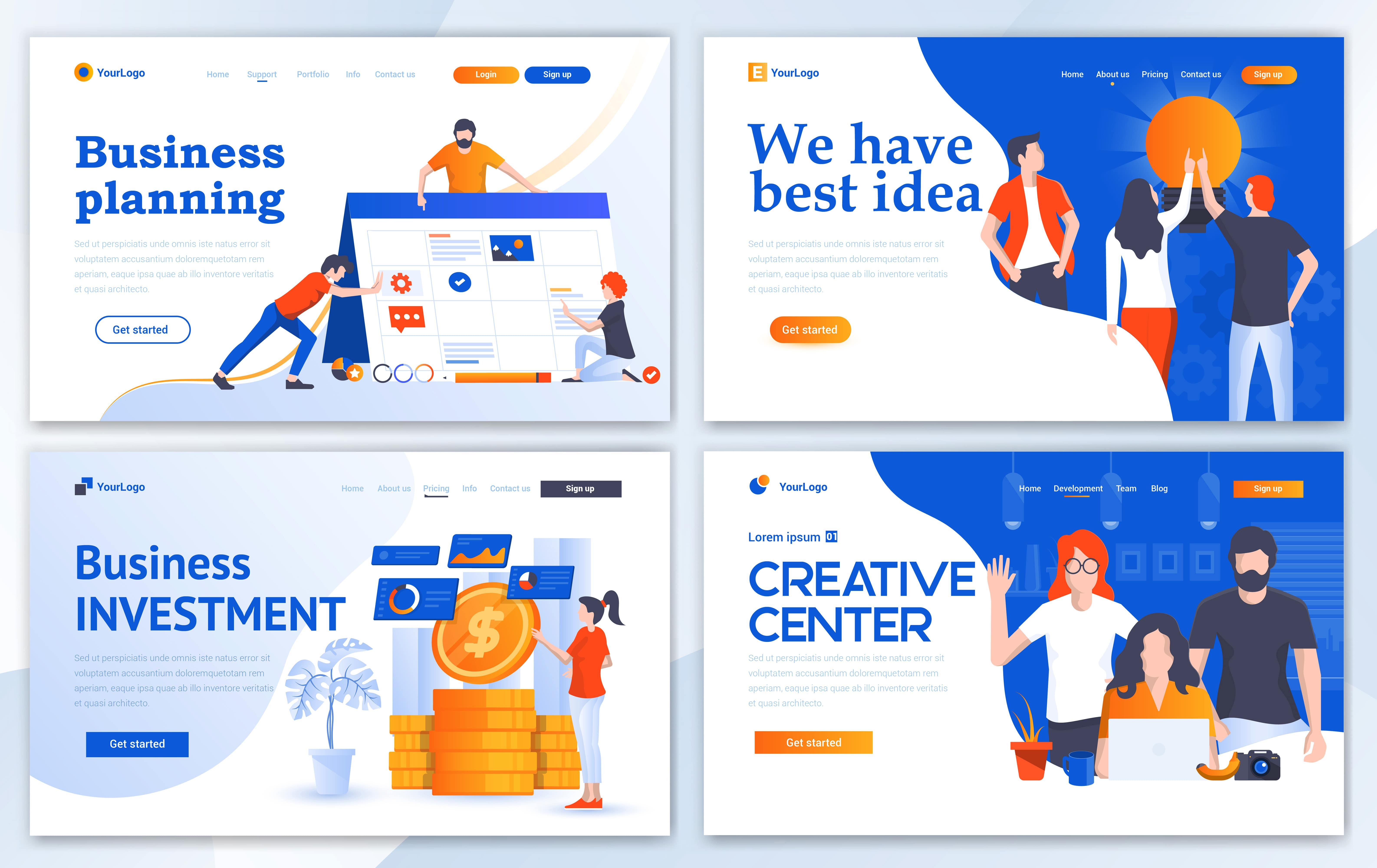 مجموعه الگوهای طراحی وب (تجارت)
